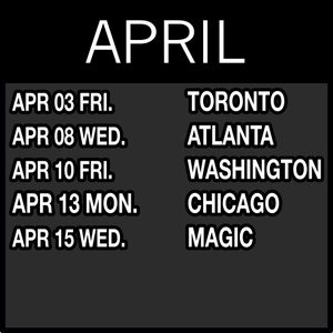 Image of APRIL NETS TICKETS: Click to see prices for each game