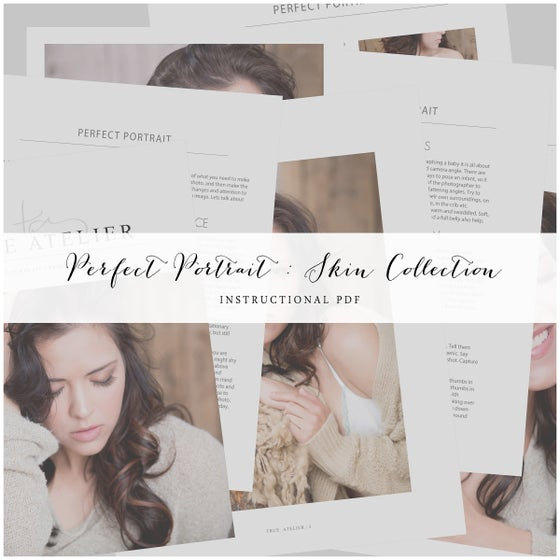 Image of PERFECT PORTRAIT SKIN COLLECTION | DIGITAL BUNDLE
