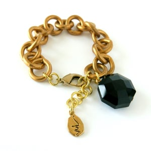 Image of Crystallized Charm Bracelet {see more colours}