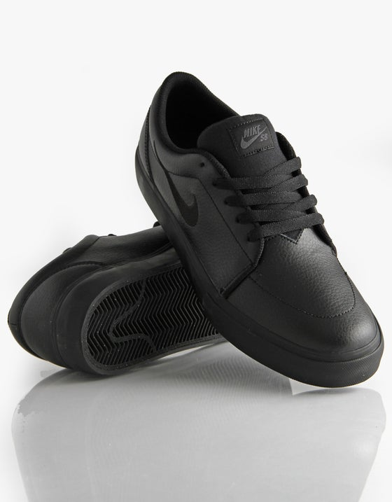 Image of Nike SB Satire Leather - Black / Anthracite