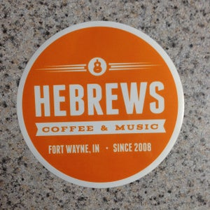 Image of HeBrews Sticker!
