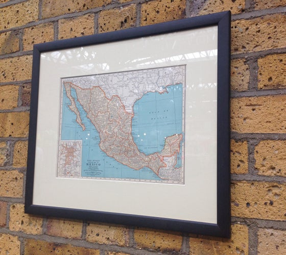 Image of Map of Mexico 1937
