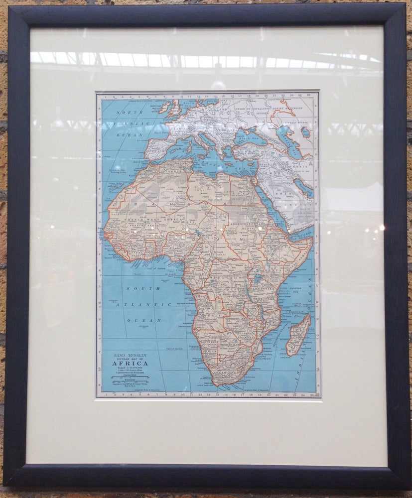 Image of Map of Africa 1937
