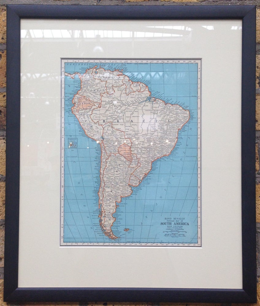 Image of Map of South America 1937