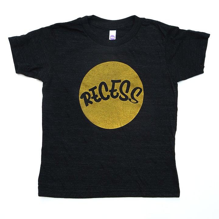 Image of RECESS Gold Logo 'DOT' Tee - Youth