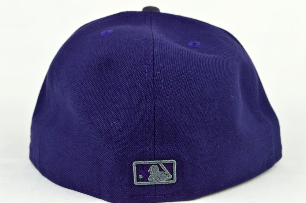 Image of TORONTO BLUE  JAYS CUSTOM PUR & GREY NEW ERA 59FIFTY FITTED CAP