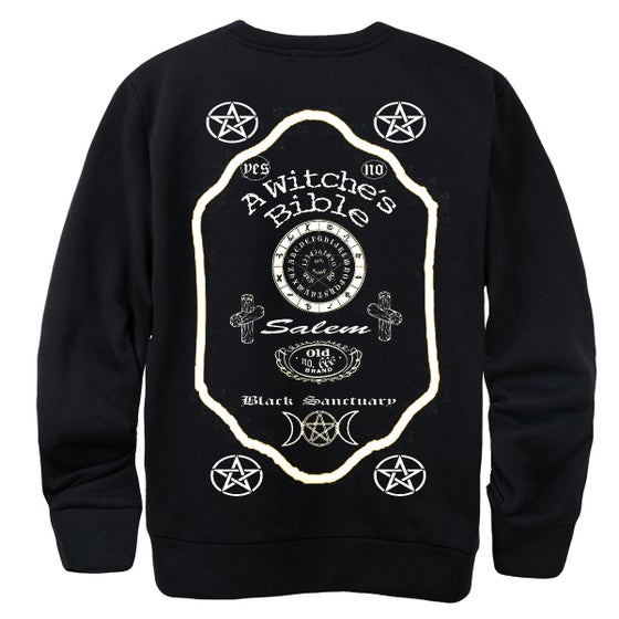 Image of A WITCHE'S BIBLE SWEATER