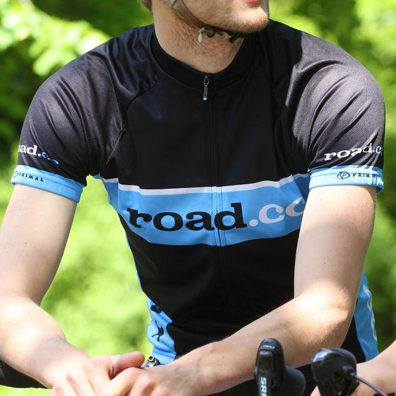 Image of road.cc Men's Sport Cut jersey