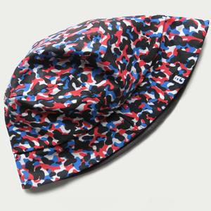 Image of CC x BG REVERSIBLE 'U-BAHN' BUCKET HAT.