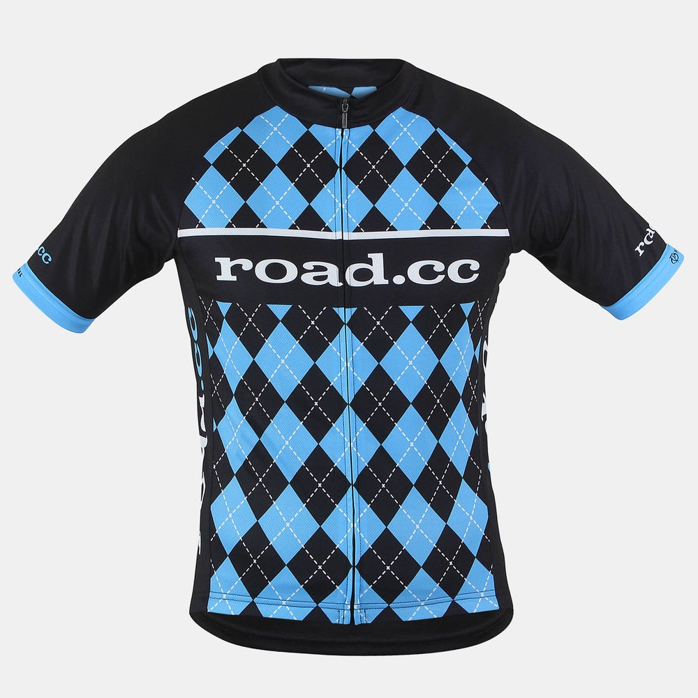 Image of road.cc Men's race cut jersey