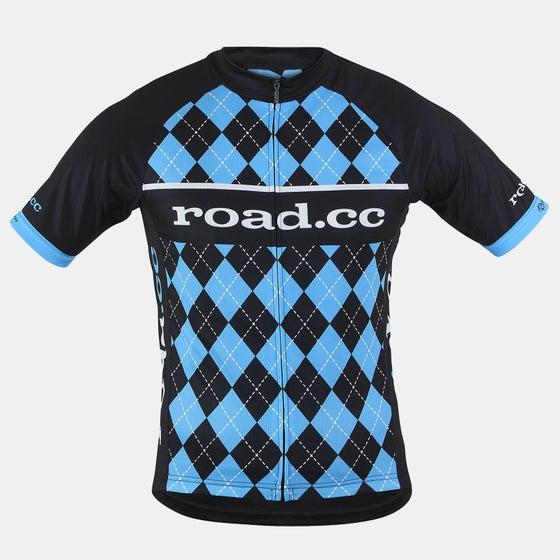 Image of road.cc Men's race cut jersey