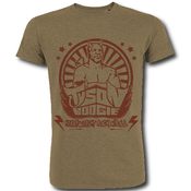 "Image of T shirt kaki ""Heavyweight Rock n'roll"" + 3 EP"