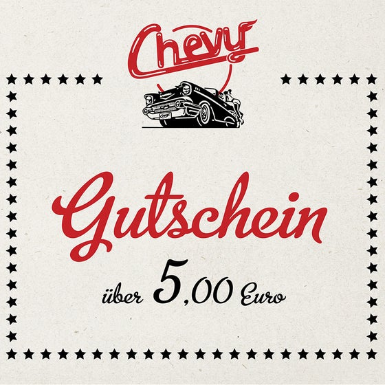 Image of Chevy Gutschein 5.00 EUR