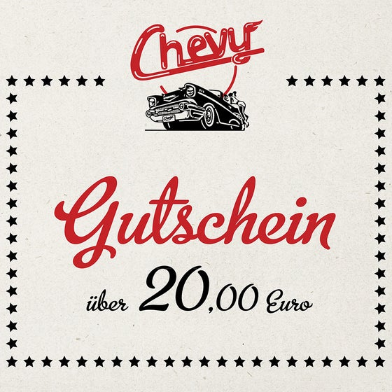 Image of Chevy Gutschein 20.00 EUR