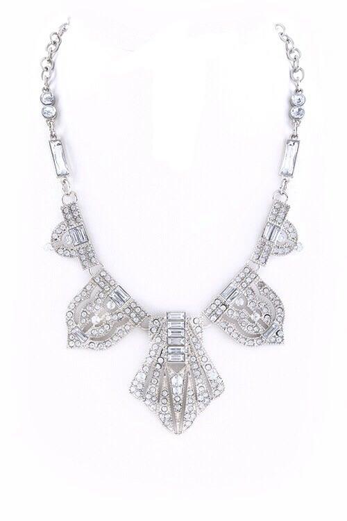 Image of GlamBam Deco Statement Necklace