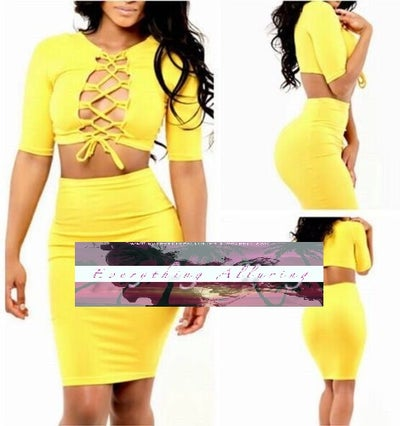 Image of SEXY 3/4 SLEEVE BODYCON