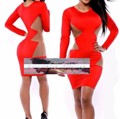 Image of BANDAGE PENCIL DRESS