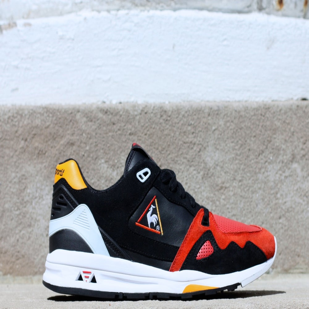 Image of HAL x Le Coq Sportif LCS R1000 'BLACK SWAN""