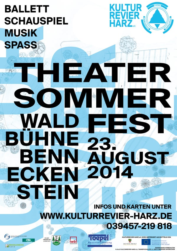 Image of Poster THEATERSOMMERFEST2014
