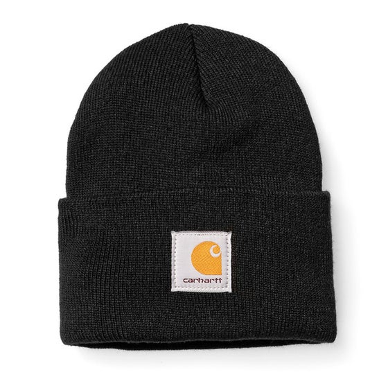 Image of CARHARTT ACRYLIC WATCH HAT BLACK