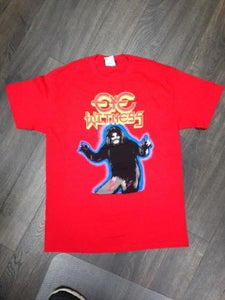 """Image of """"HAIRY MADMAN"""" T-SHIRT RED COLOR BODY WAY"""