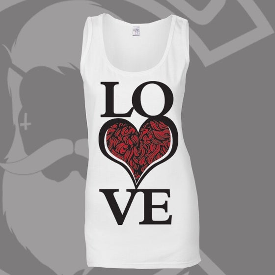 Image of Beard and Ink  LOVE Bearded ❤️ Logo Vest