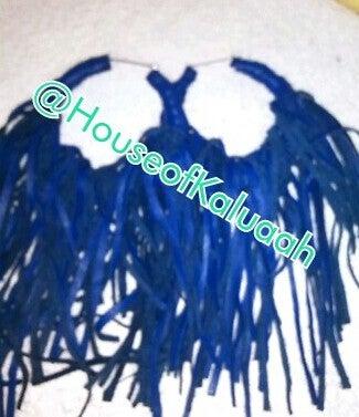 Image of Blue Fringe