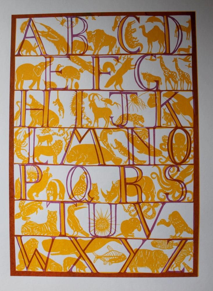 Image of Animal Kingdom Alphabet Print