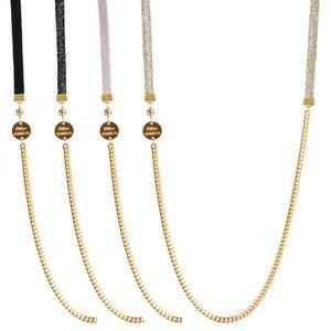 Image of collier bracelet 4 tours Emma M<br>DORÉ