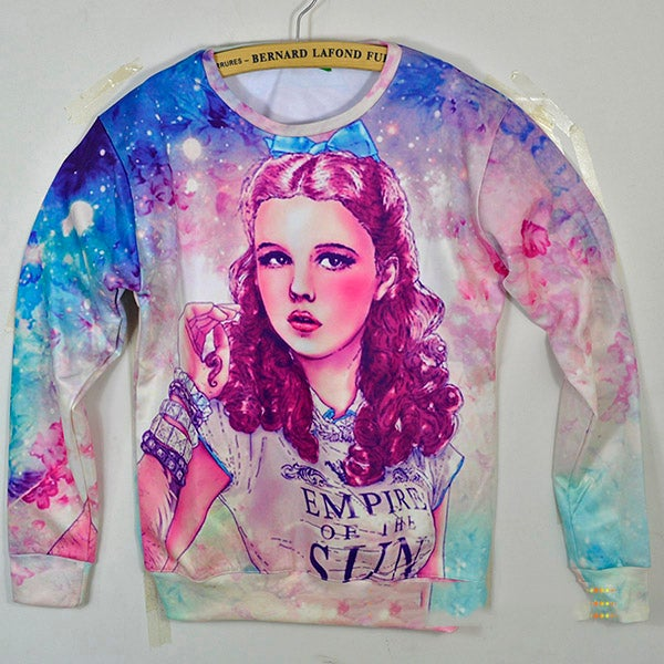 "Image of Wizard of Oz ""All Over Print"" Sweater"