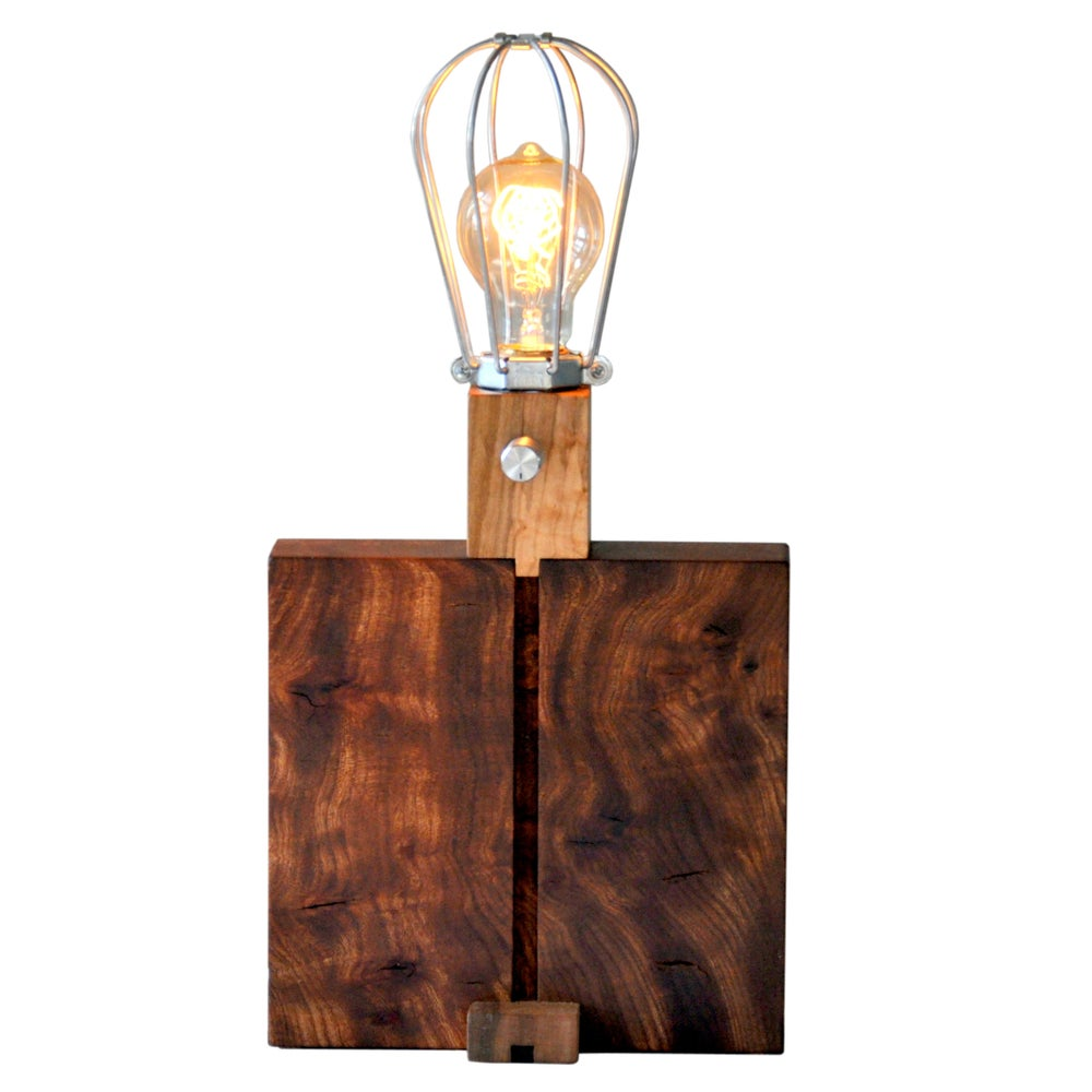 Image of Walnut Table Lamp