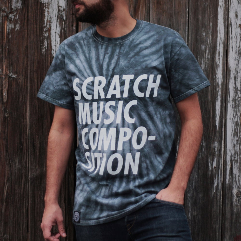 "Image of T-SHIRT ""SCRATCH MUSIC COMPOSITION"""