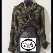 Image of Camo Blouse