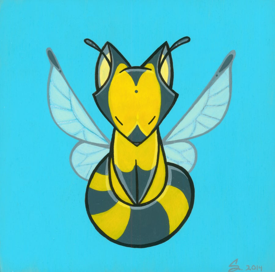 Image of Bee-Fox - Print
