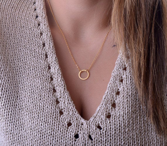 Image of Fashion alloy necklace chain clavicle