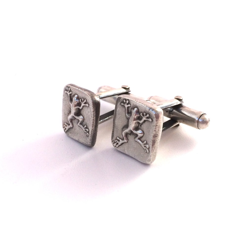 Image of Froggy Cuff Links