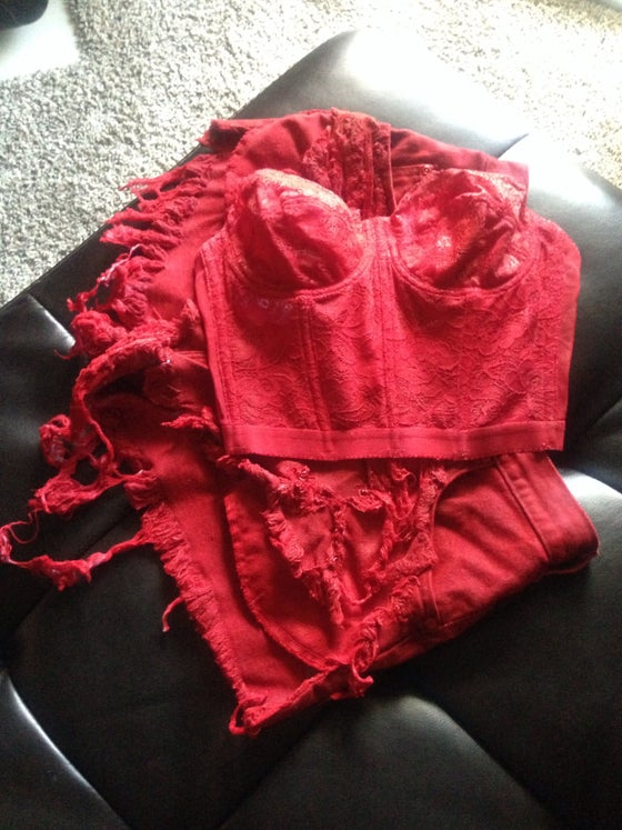 Image of Red Hot Corset
