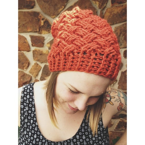 Image of Weaving thru Wonderland Slouch Hat