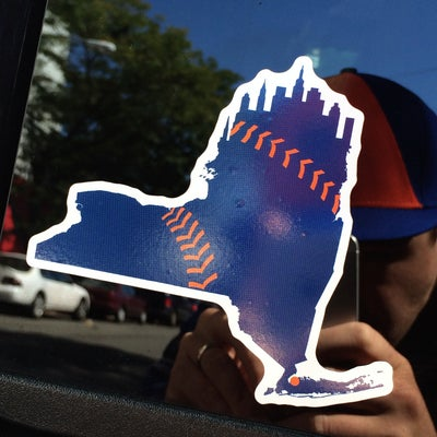 Image of DECAL: NY