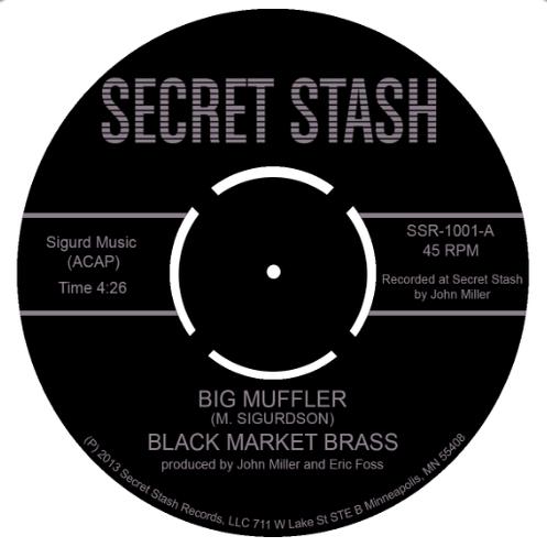 Image of SSR-7-1001 BLACK MARKET BRASS