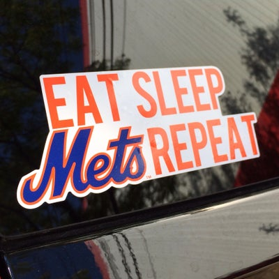 Image of DECAL: Eat Sleep Mets Repeat