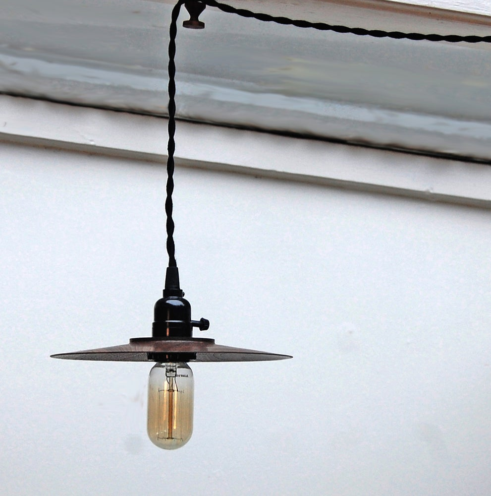 Image of Walnut Pendant Lamp