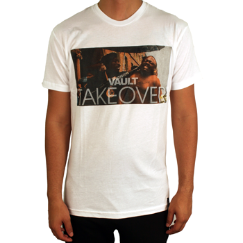 Image of Vault Takeover Tee (White)
