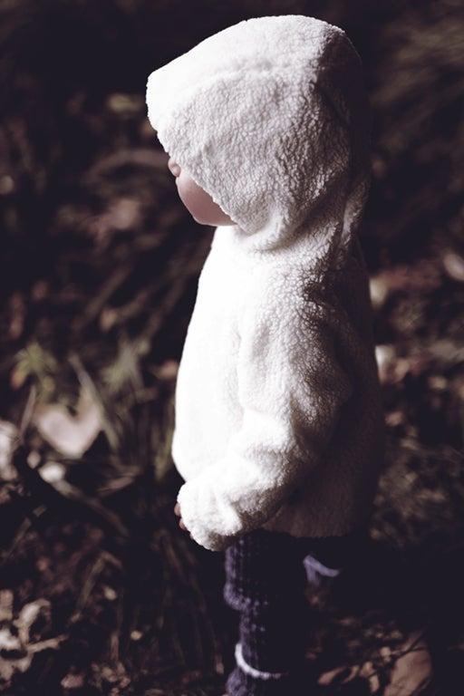 Image of Blouson bébé garçon Little Creative Factory peau de mouton synthétique