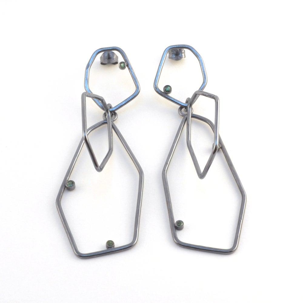 Image of Adamite Gem Drop Earrings