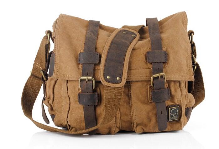 Image of CANVAS BAG SCHOOL BAG WOMEN BAG MEN BAG BACKPACK STUDENT PACKAGE X-3