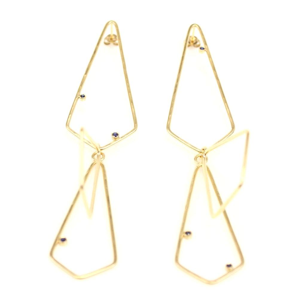 Image of Galena Gem Drop Earrings