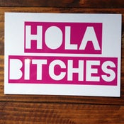 Image of HOLA BITCHES® post cards- set of 6
