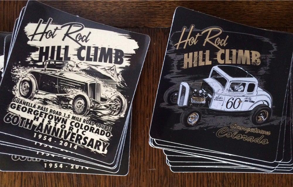Image of Hot Rod Hill Climb Sticker Sets