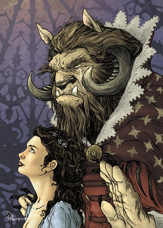 "Image of Beauty and the Beast 18""x24"" Print"